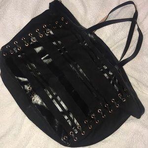 Victoria's Secret black/rose gold bag 💼💕